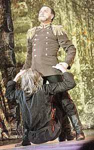 Дуэт Николая II и Григория Распутина оказался одним из самых ярких эпизодов балета